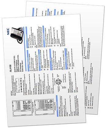 NEC SL1100 Resources My Tech Distributors